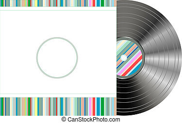 retro-styled vinyl with modern cover - retro-styled vinyl...