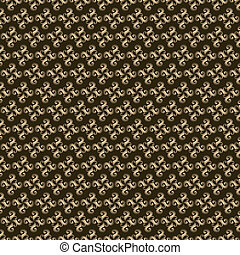 retro swirl design pattern