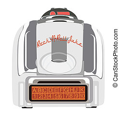Retro Table Juke Box - Retro juke box to rock and roll to in...