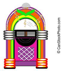 Retro Table Juke Box... - Retro juke box to rock and roll to...