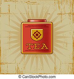 Retro Tea Can
