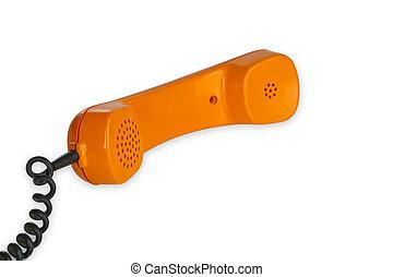 Retro telephone receiver