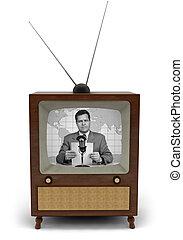 retro, televisión