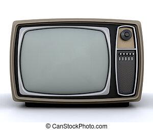 Retro styled television