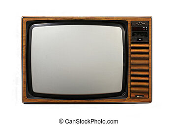 Retro Television Set - 70s style TV Set