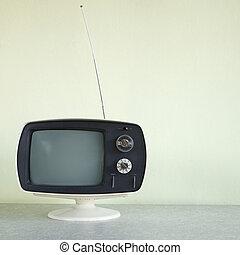 Retro television set.