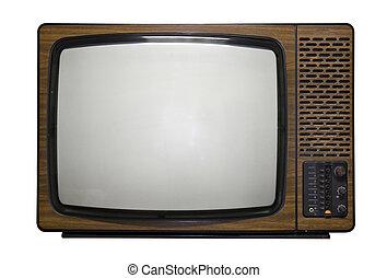 retro, telewizja