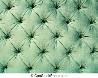 Retro textile - Green old textile pattern