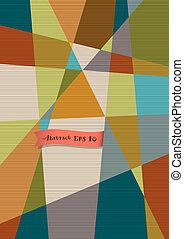 Retro textured geometric background .Vector eps10