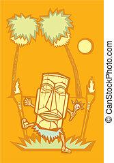 Retro Tiki Witchdoctor