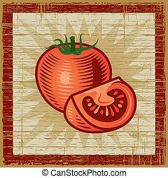 Retro tomato