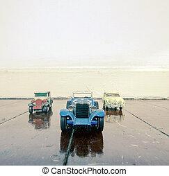 retro toys car
