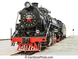 retro train platform
