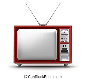 Retro TV Set. My own design. - Retro TV Set. My own design...