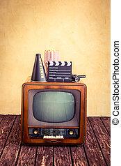 retro, tv