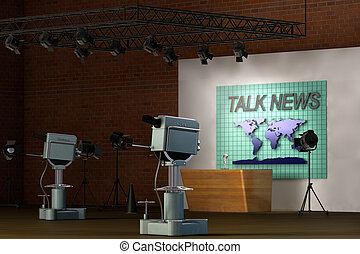 Retro TV Studio
