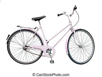 retro tytułują, rower