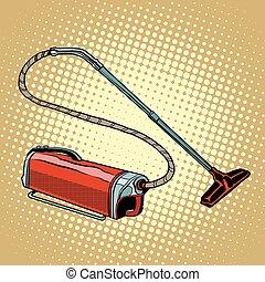 Retro vacuum cleaner home appliances