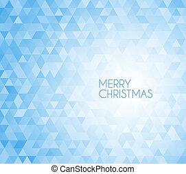 retro, vector, kerstmis, achtergrond