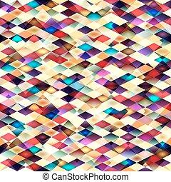 Retro vector seamless pattern.