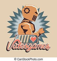 retro videogame design
