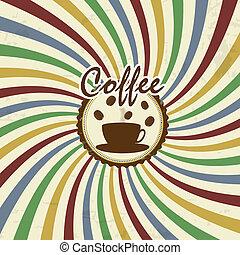 Retro Vintage Coffee Background