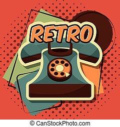 retro vintage device