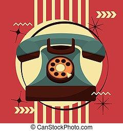 retro vintage devices