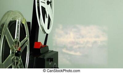 Retro Vintage Film Rolling
