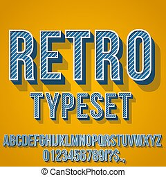 Retro Vintage Font