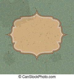 Retro vintage grunge background. vector illustration