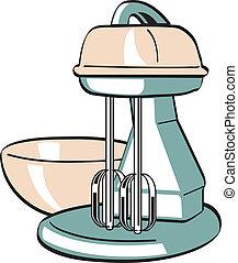 Retro Vintage Kitchen Blender Mixer - Retro or vintage...