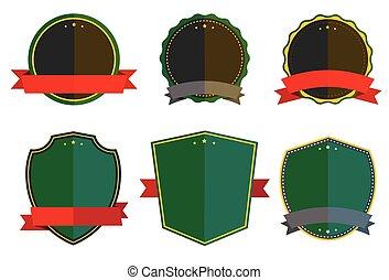 Retro vintage label vector design s