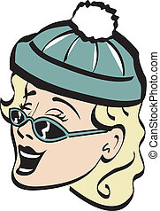 Retro Vintage Mom Mother Clip Art