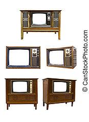 Retro Vintage television 8