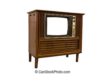 Retro Vintage television1