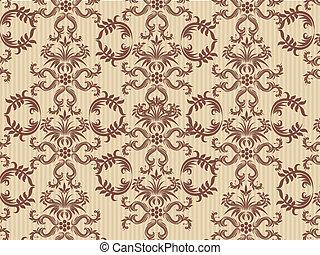 Retro wallpaper - vector - Retro wallpaper