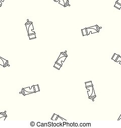 Retro whistle pattern seamless vector repeat geometric for ...