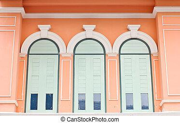Retro window style