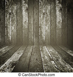 Retro wood background