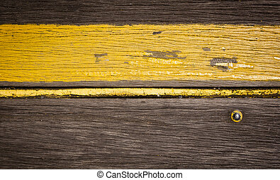 Retro Wood Stripe