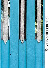 retro Wooden fence