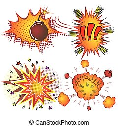 Retro_Comic_Book_Vector_Boom_Explosion.eps - Retro Comic...