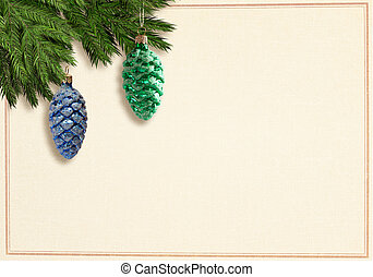 Retrostyle christmascard
