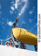 rettungsboot, lebensring