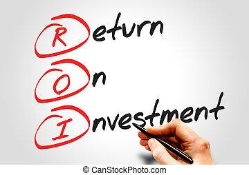retur, investering
