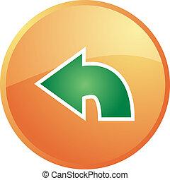 Return navigation icon