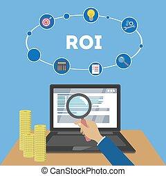 Return on the investment illustration - Return on the...