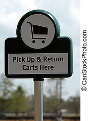 Return shopping cart