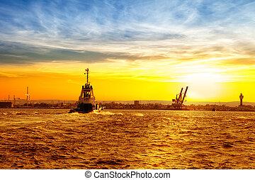 Return to port